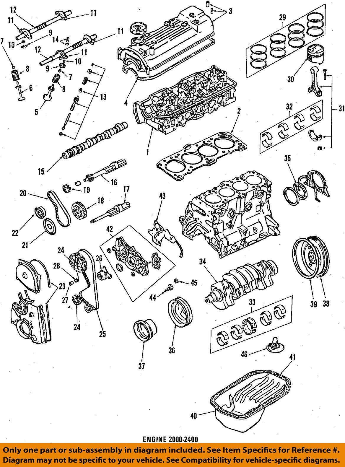Mitsubishi Mighty Max Parts Diagram Just Another Wiring Blog Raider Engine Purchase Oem 84 86 Crankshaft Pulley Md074531 Rh 2040 Com