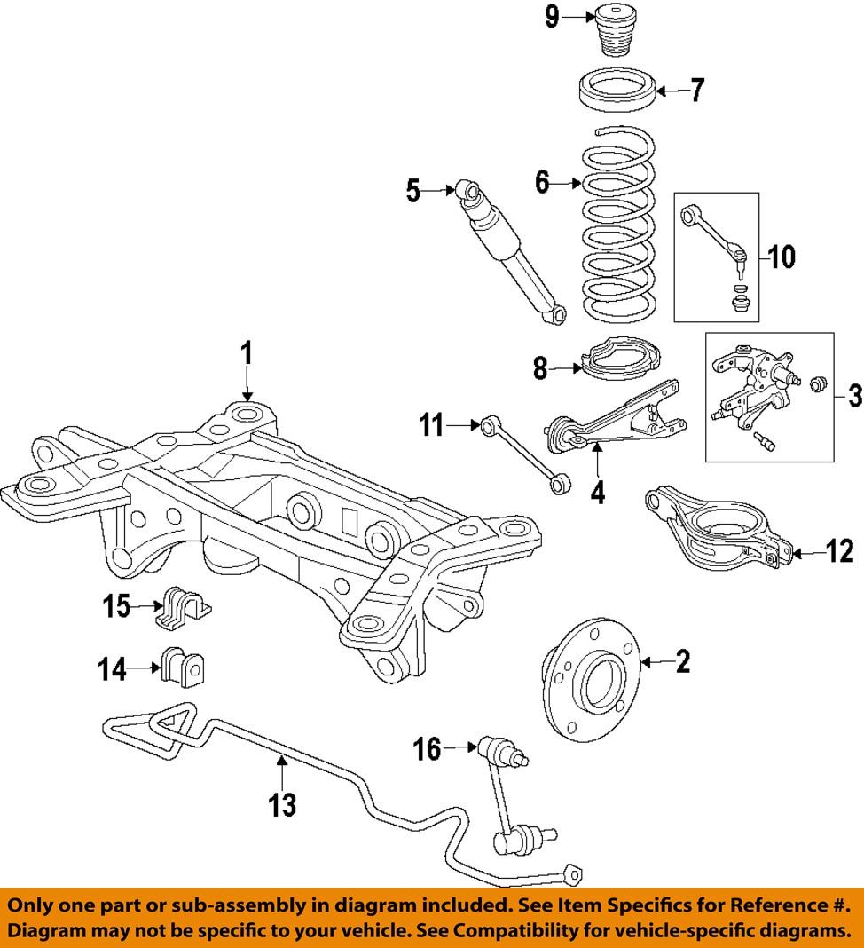 honda oem 10 15 pilot rear suspension coil spring 2004 honda pilot rear  suspension diagram 2007 honda pilot rear suspension diagram