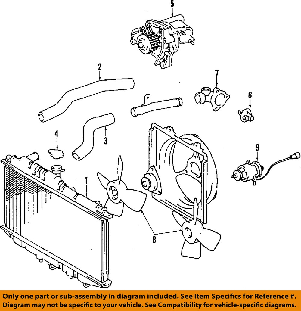 Toyota 92 01 Camry Engine Coolant Thermostat 9091603090