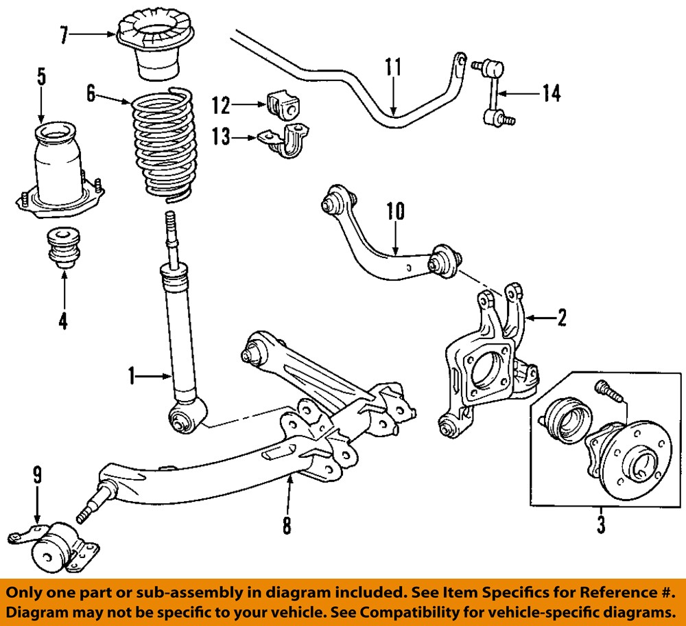 Toyota Celica Suspension Parts And Kits: TOYOTA OEM Rear Suspension-Spring Insulator 4825732080