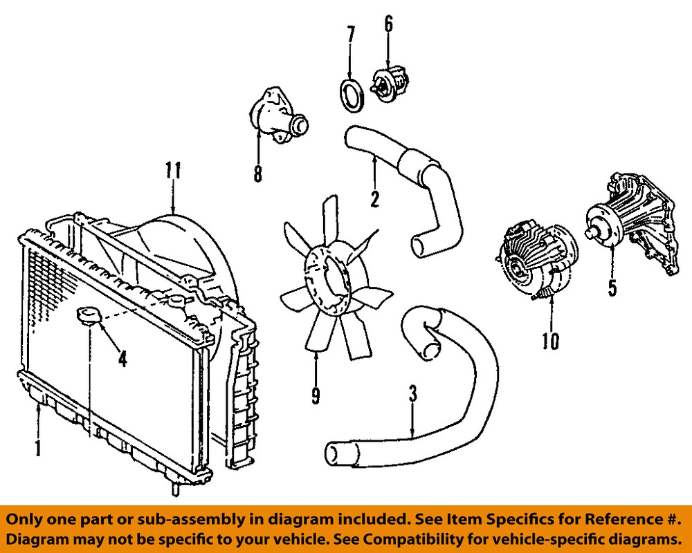 Purchase Toyota Oem 89 92 Supra Engine Coolant Thermostat Housing Stock Diagram 1633342030