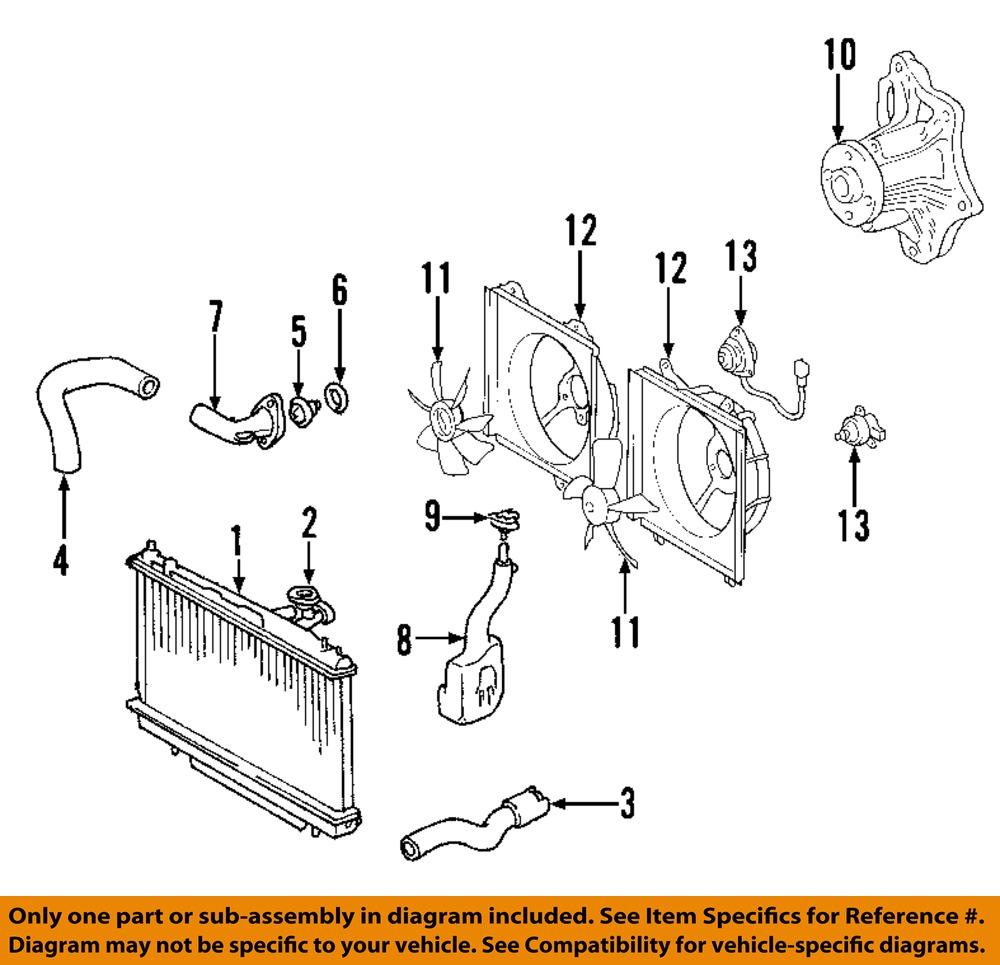toyota oem 98 05 rav4 radiator cap 164017a470 image is loading toyota oem 98 05 rav4 radiator cap 164017a470
