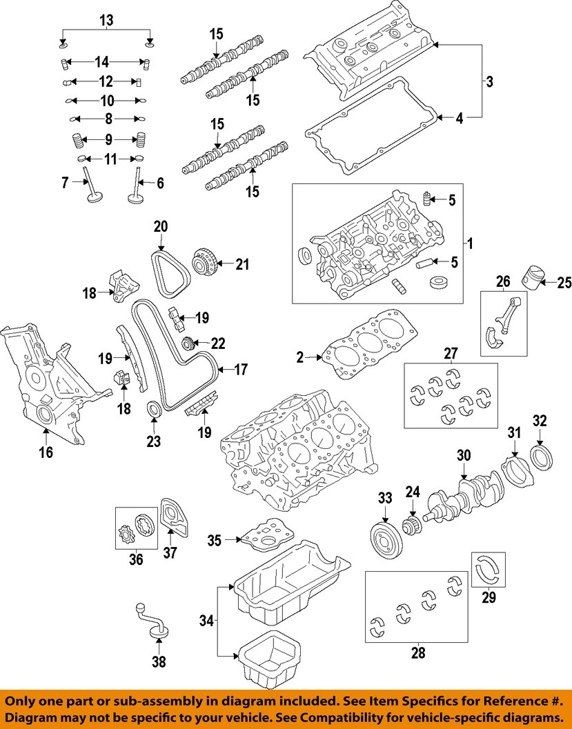 lexus gs350 engine diagram 1992 lexus sc300 engine diagram lexus oem 1305031163 is350 gs350 engine timing camshaft ... #11