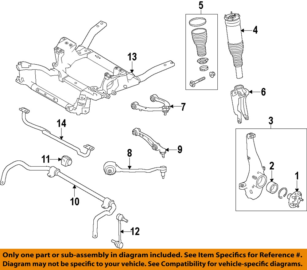 LAND ROVER OEM 14-16 Range Rover Sport-Front Upper Control