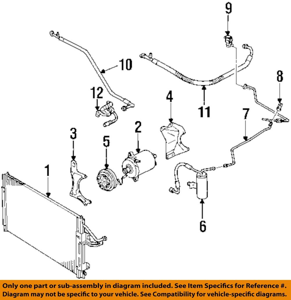 ac compressor clutch schematic saturn gm oem 00-01 sc1-air conditioning ac a/c compressor ... #9