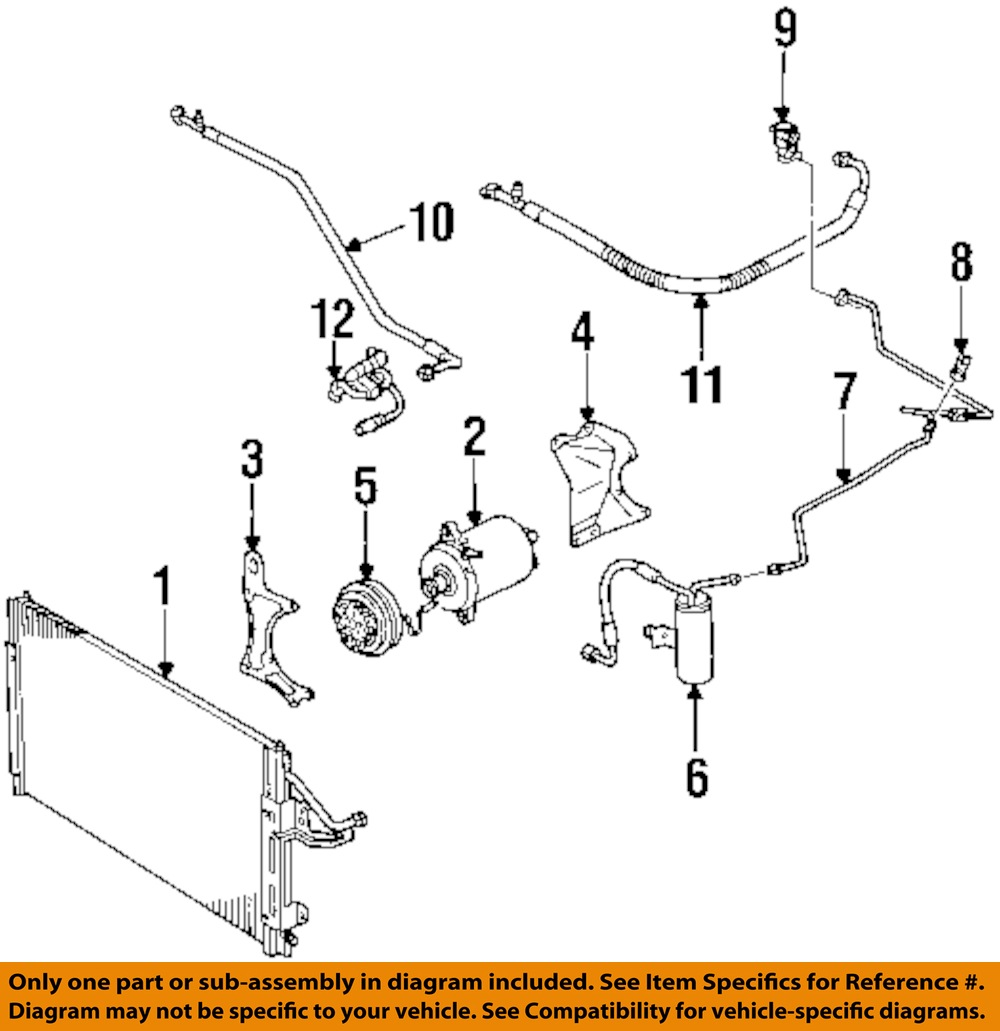 Freighliner A C Clutch Wire Diagram: Saturn GM OEM 00-01 SC1-Air Conditioning AC A/C Compressor