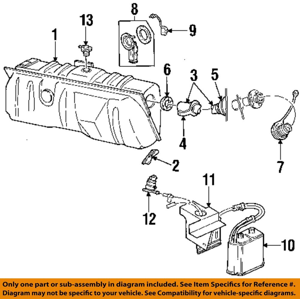 FORD OEM   Fuel       Tank    Vent Valve E7DZ9B593A   eBay