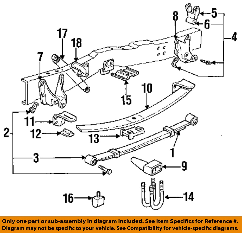 ford leaf spring diagram diagram of a leaf spring