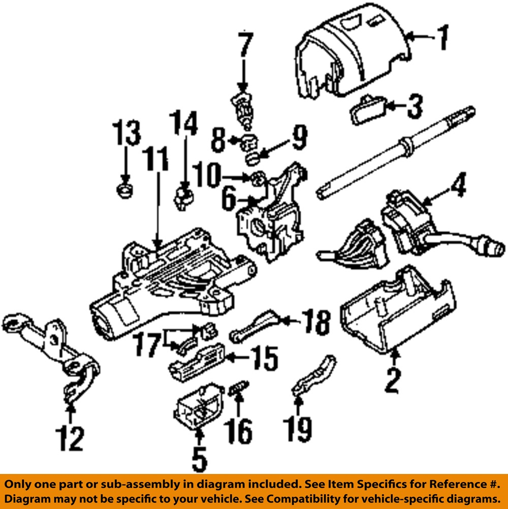 98 Ranger Steering Column Diagram Wiring Diagrams Gm Auto Parts Ford F650