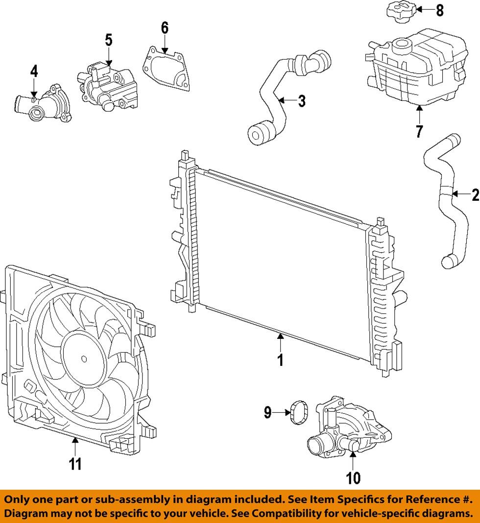 Chevrolet Gm Oem 13 15 Spark Engine Water Pump Gasket 25182513 Ebay Front Suspension Diagram On 2004 Dodge Durango 4 7 Image Is Loading
