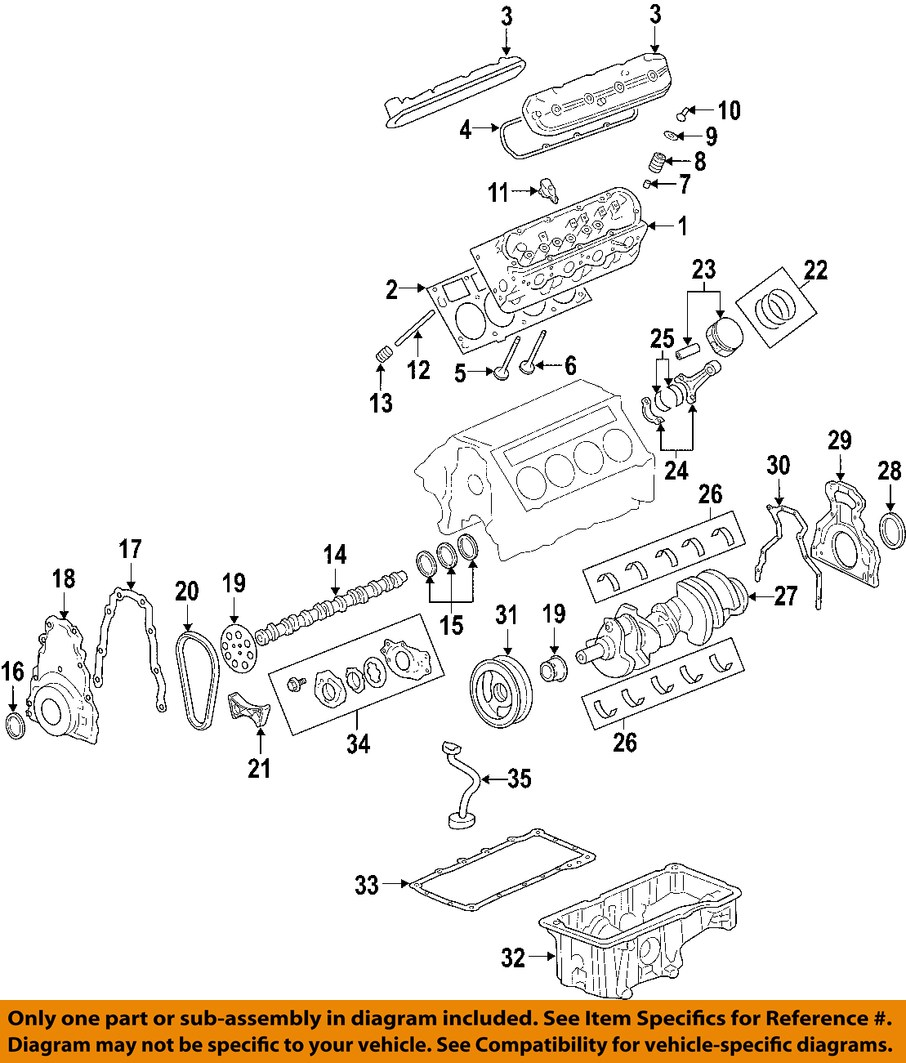 pontiac gm oem 2006 gto engine pan 12599397 ebay