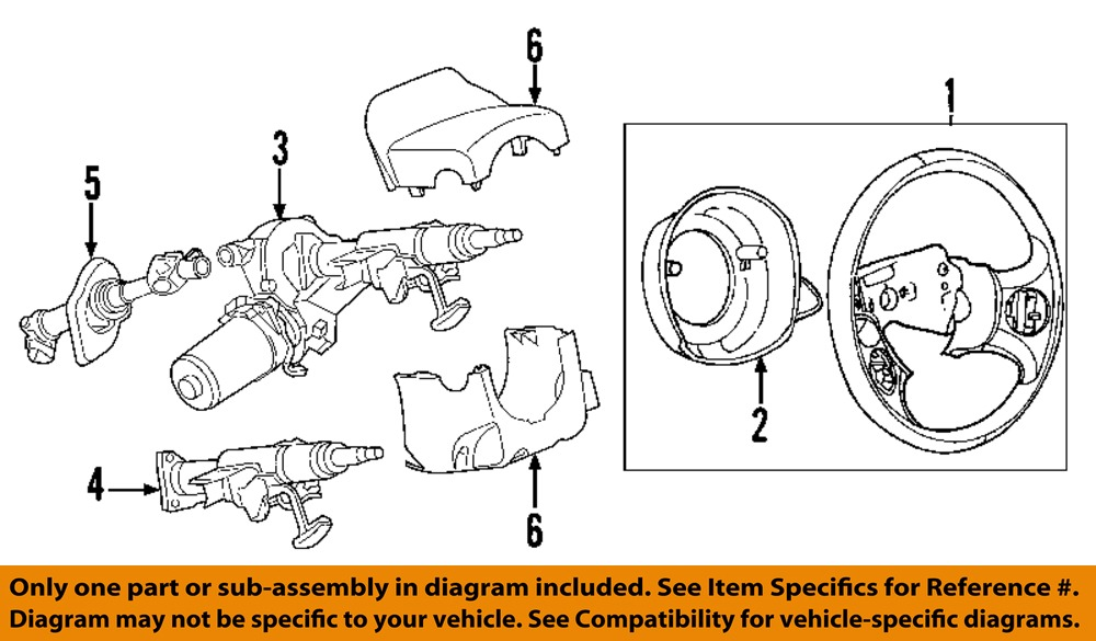 chevrolet gm oem hhr steering column intermediate shaft image is loading chevrolet gm oem 06 11 hhr steering column
