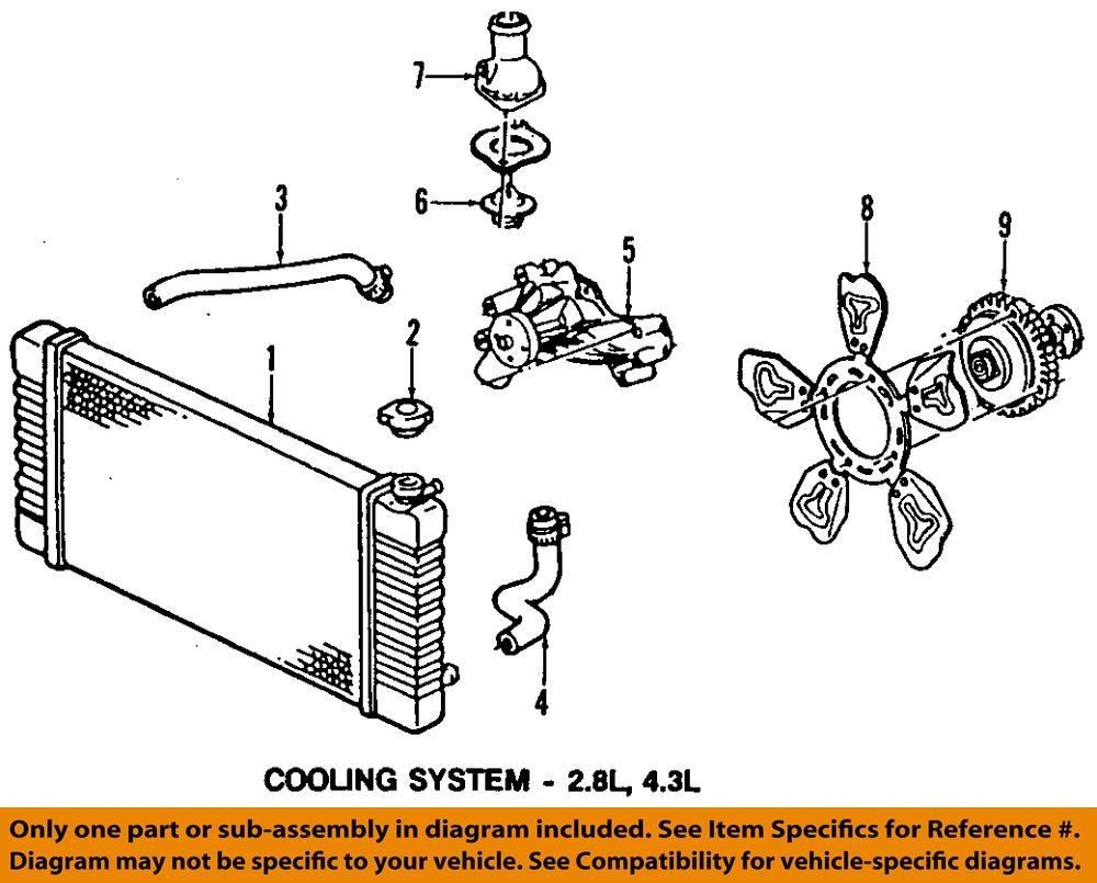 Oldsmobile Engine Cooling Diagram