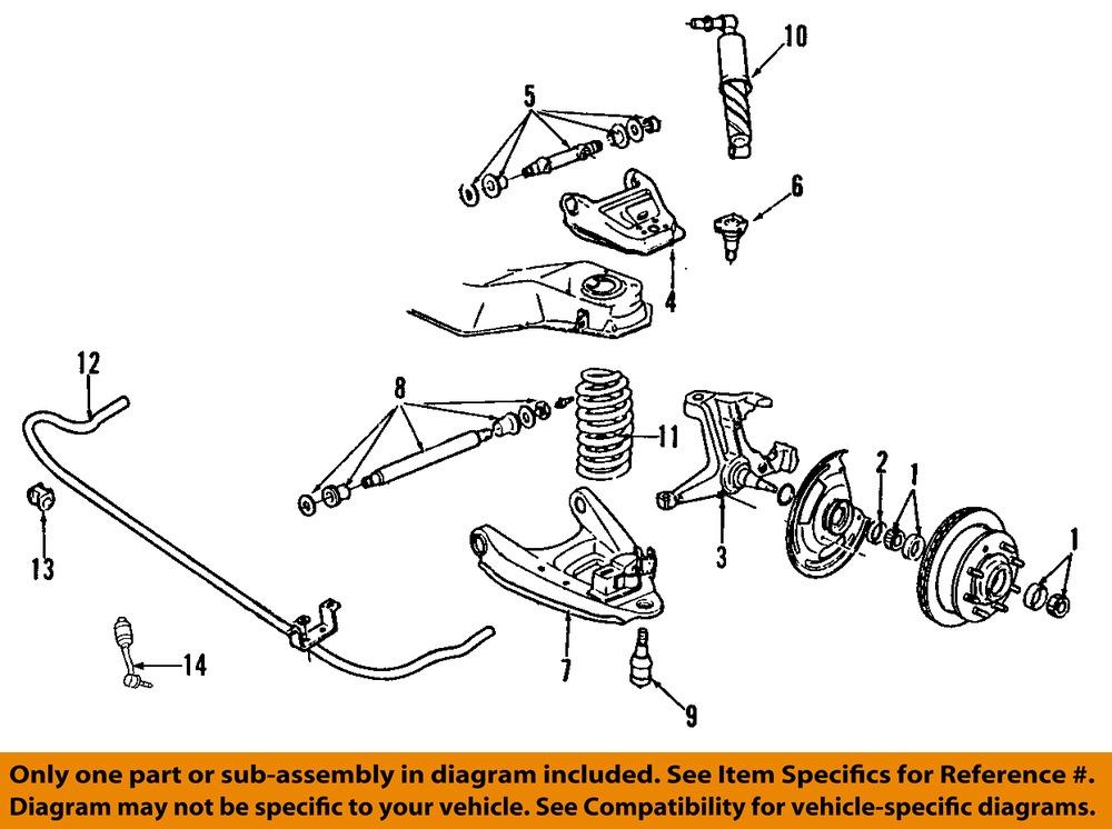1997 Chevy Silverado Suspension Diagram