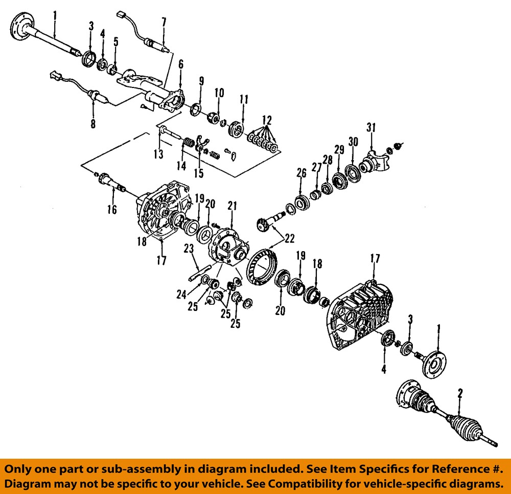 Gm Oem Front Differential