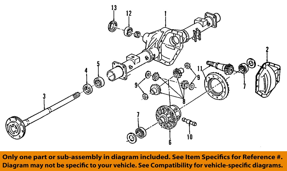 2005 Cadillac Cts Rear Differential Bushing