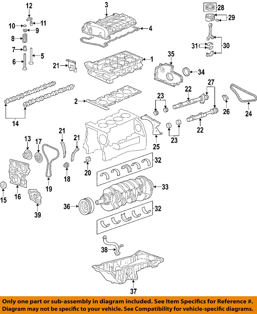 GM OEM VVT Variable Valve Timing-Actuator Assembly 12581568