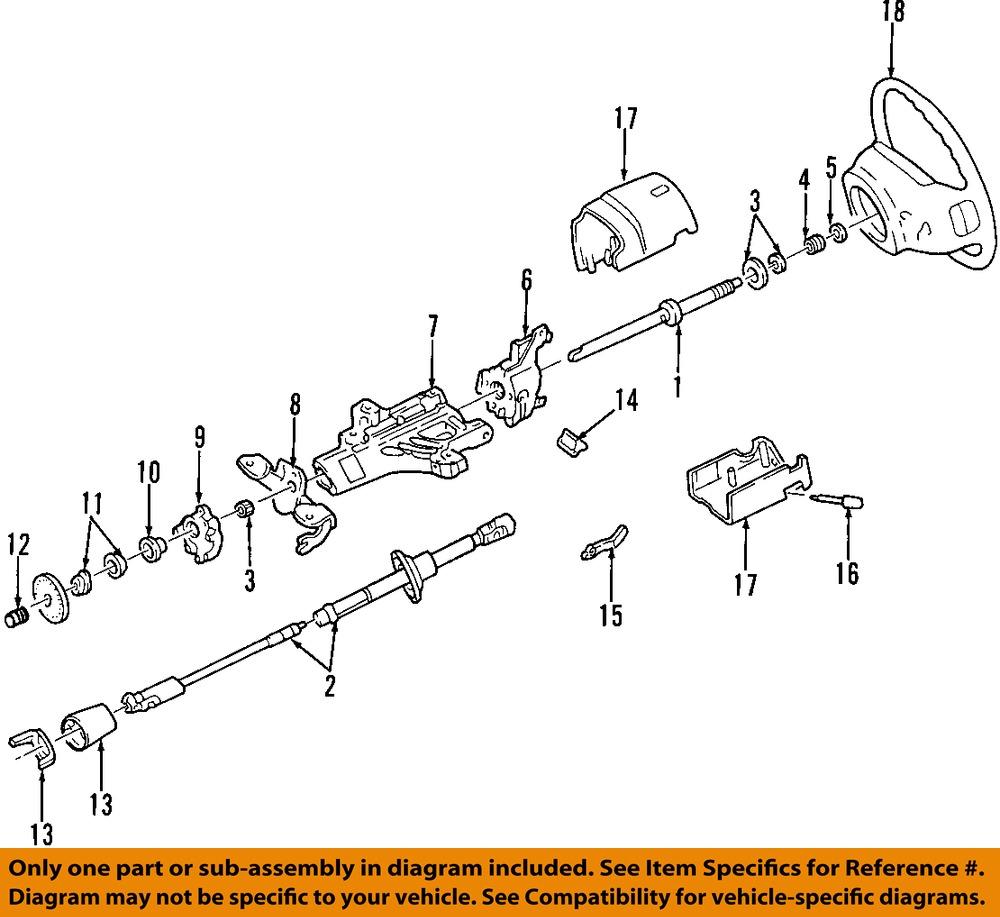 Ford Steering Column : Ford oem steering column bearing sleeve fodz a ebay