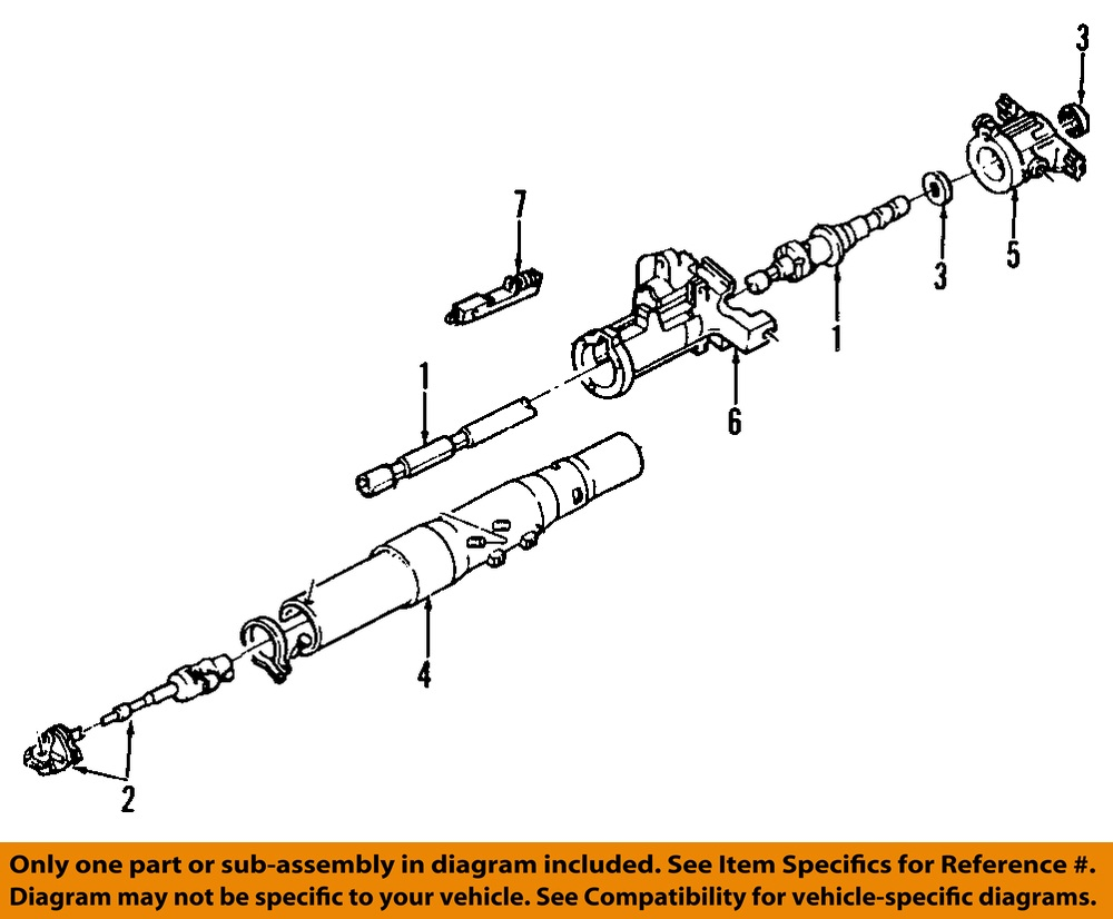 one man and his mustang ford ranger power steering diagram: ford oem 84-97  ranger steering column-actuator