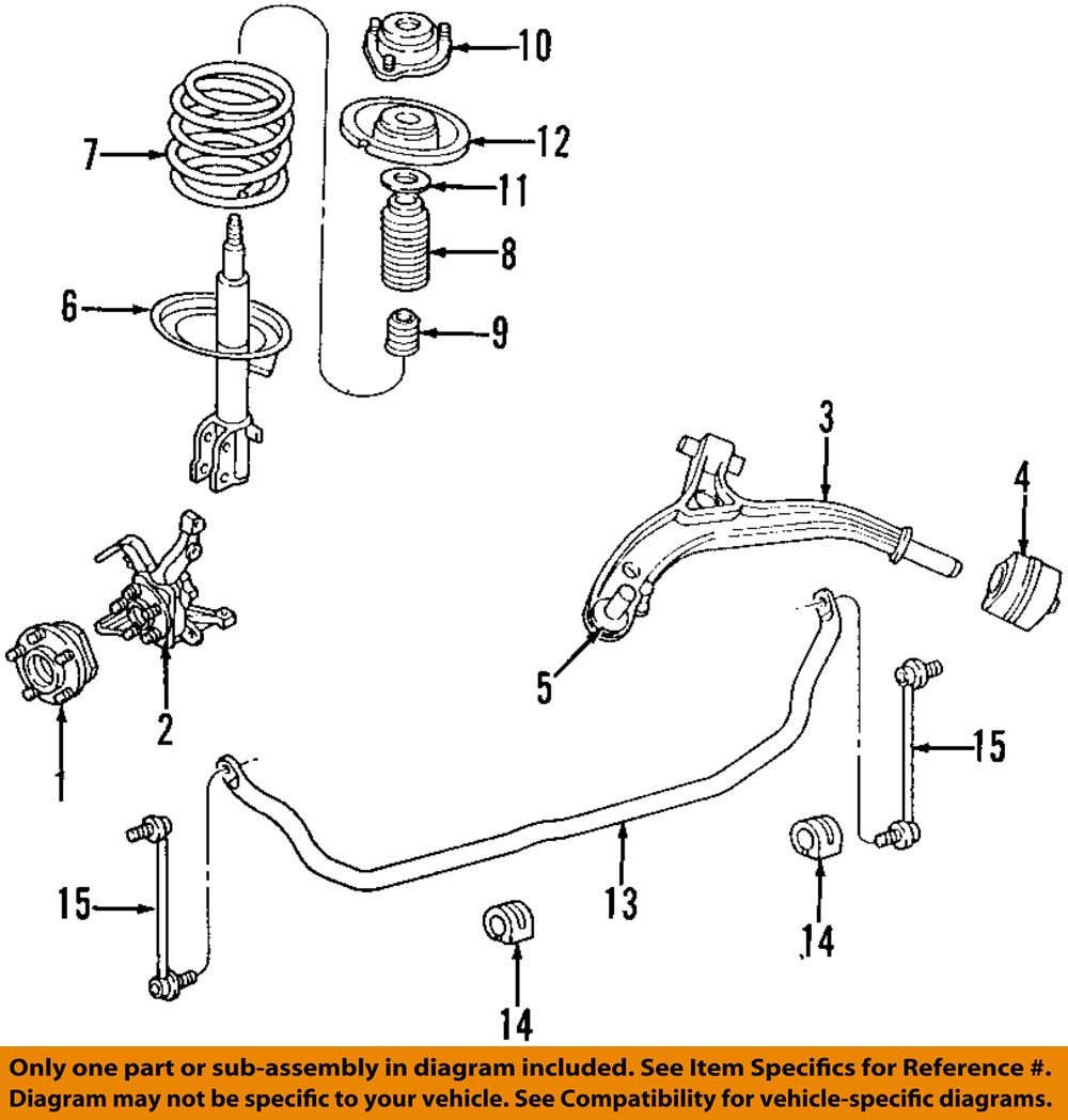 Chrysler Oem Stabilizer Sway Bar