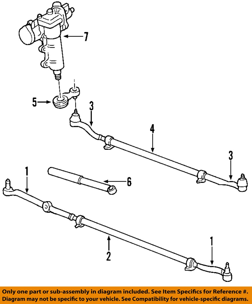 1989 jeep cherokee steering column wiring diagram jeep chrysler oem 99-04 grand cherokee steering gear ...