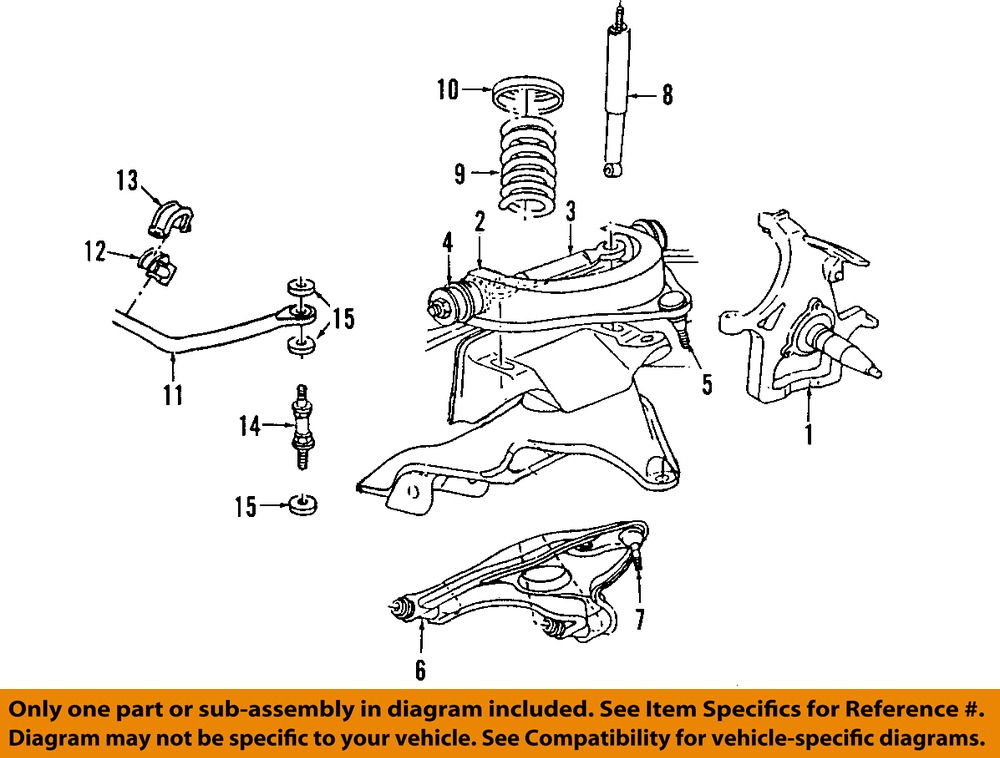 Dodge CHRYSLER OEM 02-05 Ram 1500 Front Suspension-Coil Spring ...