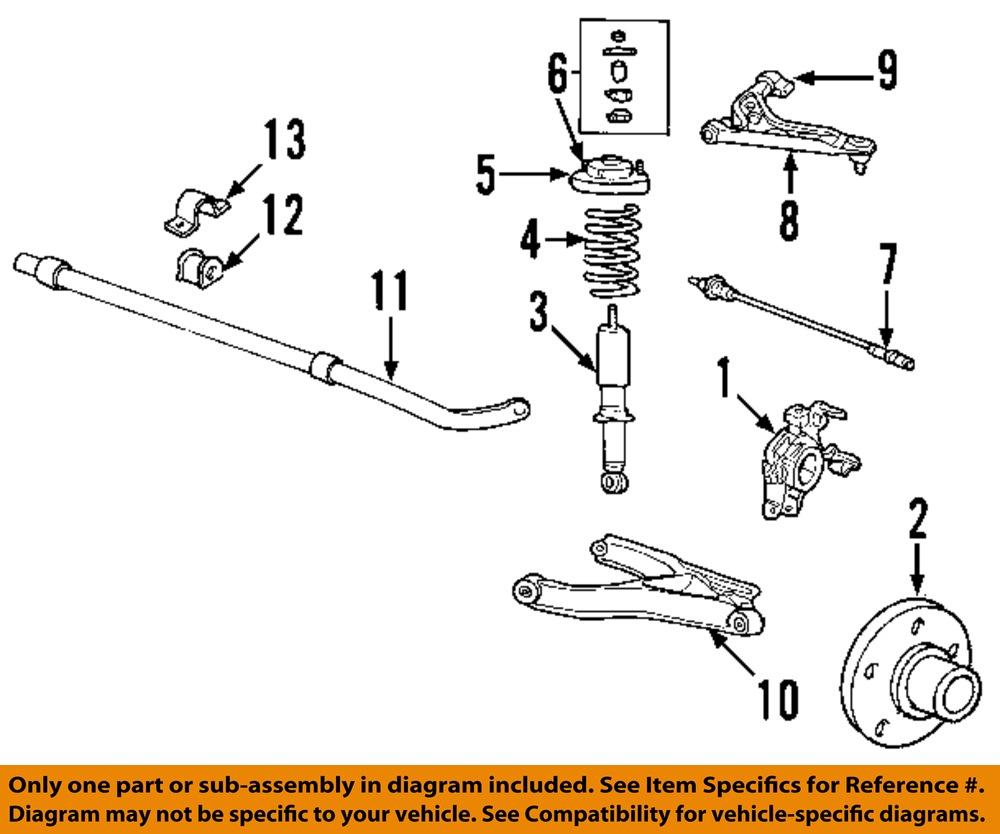 New Oem Lh Left Side Rear Wheel Knuckle 02