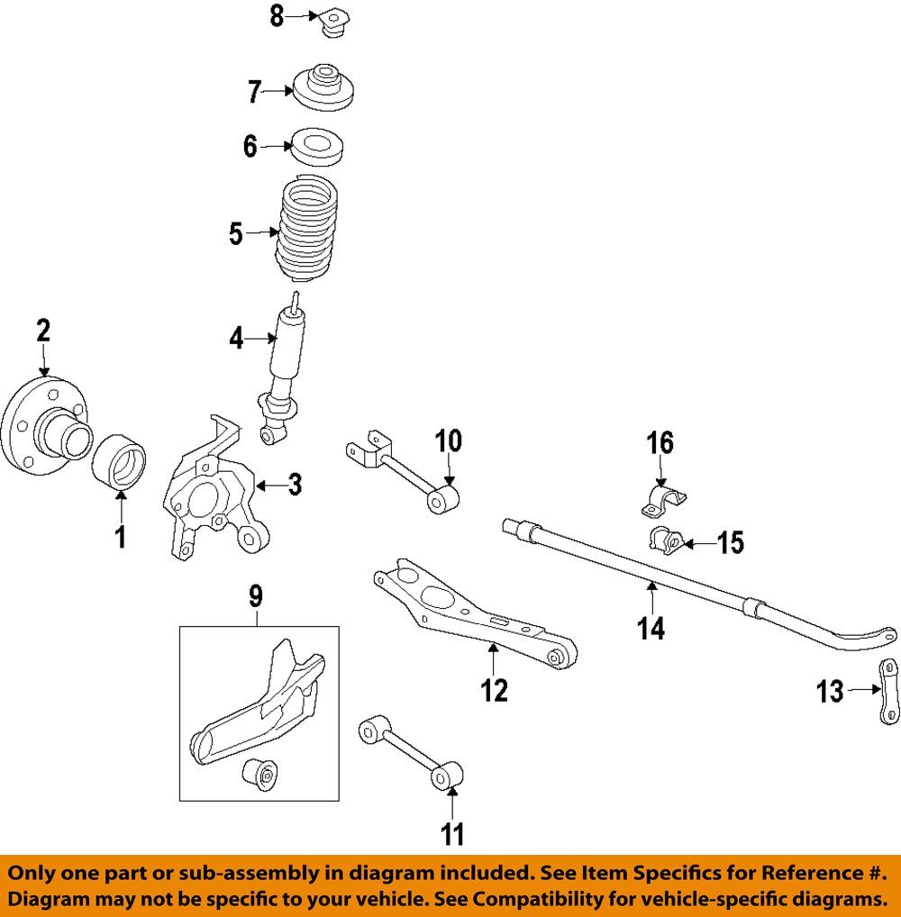 Ford Oem Stabilizer Sway Bar
