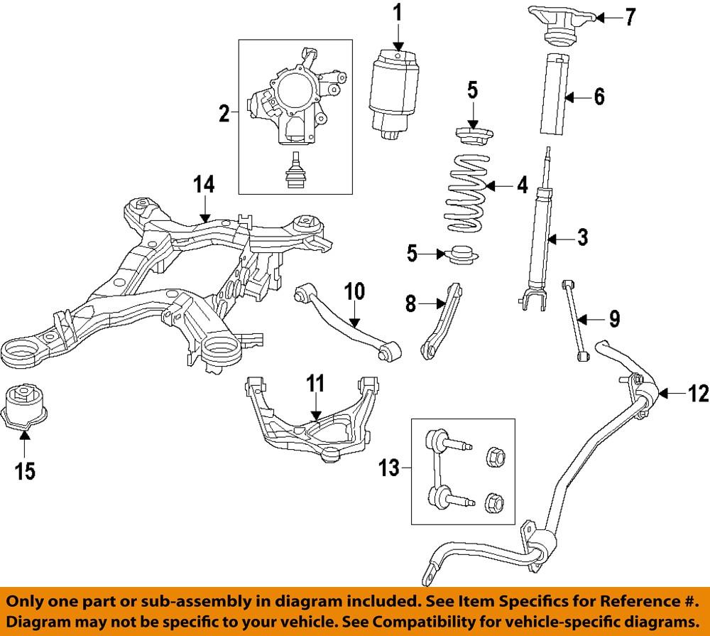 Jeep CHRYSLER OEM 11-15 Grand Cherokee Rear-Shock Absorber