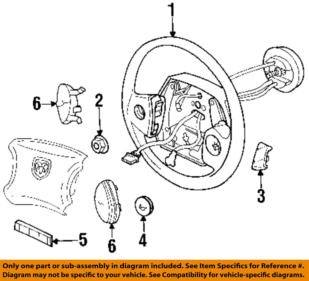 Dodge Chrysler Oem Steering Wheel Cruise Control Button Switch Diagram 56007514aa