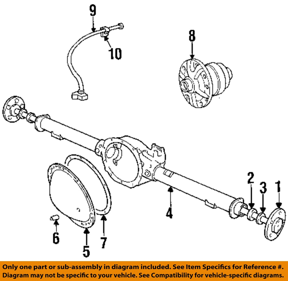 Chrysler Oem Front Axle Carrier