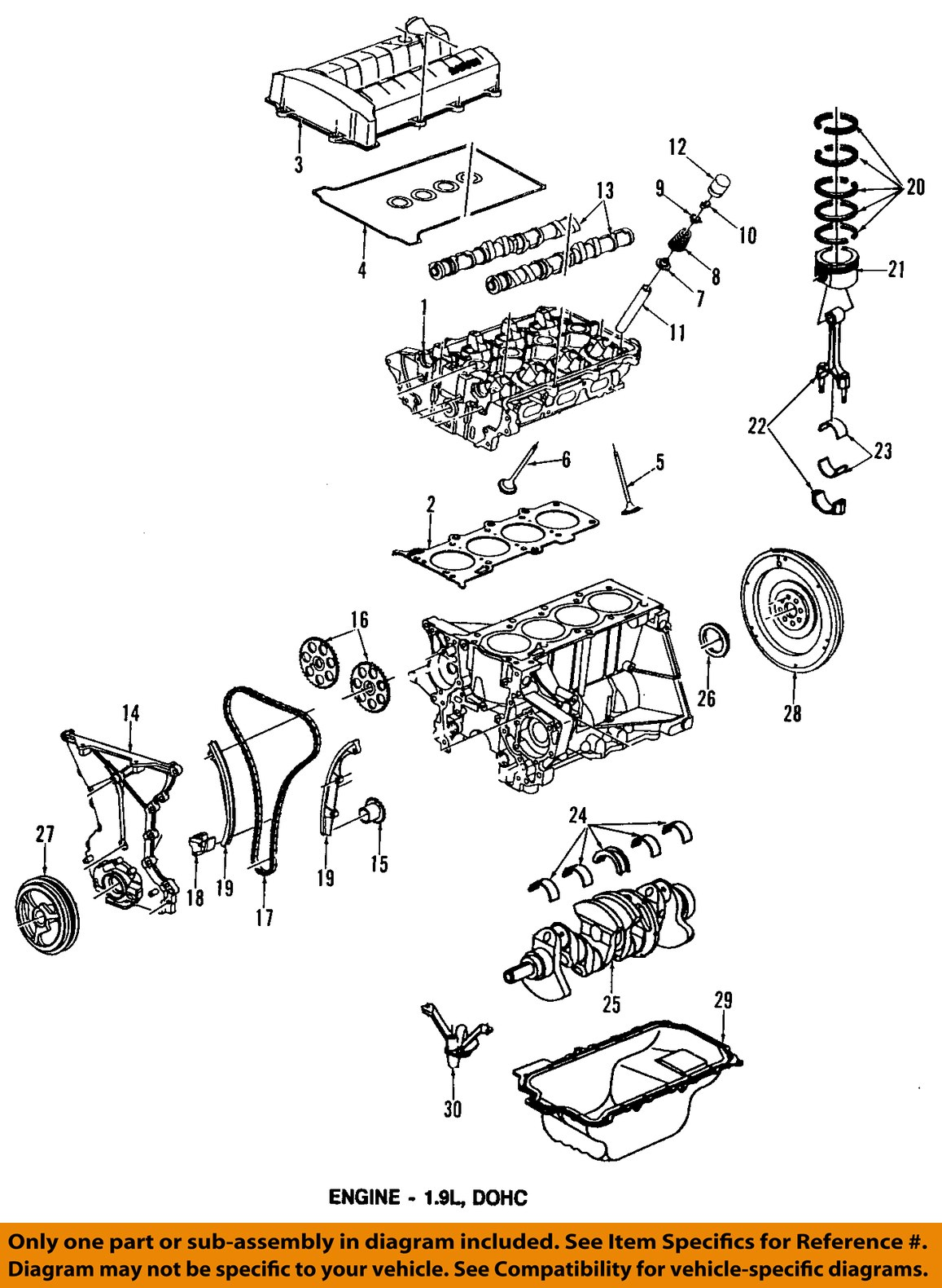 Saturn 1 9 Engine Diagram Wiring Will Be A Thing 1996 Sl2 Dohc 19 1994