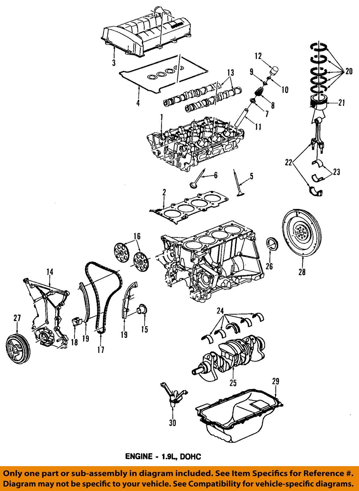 Saturn Sl2 Engine Diagram Valve Cover Wiring Diagrams 2000 Sl Gm Oem 96 98 21007151 Ebay