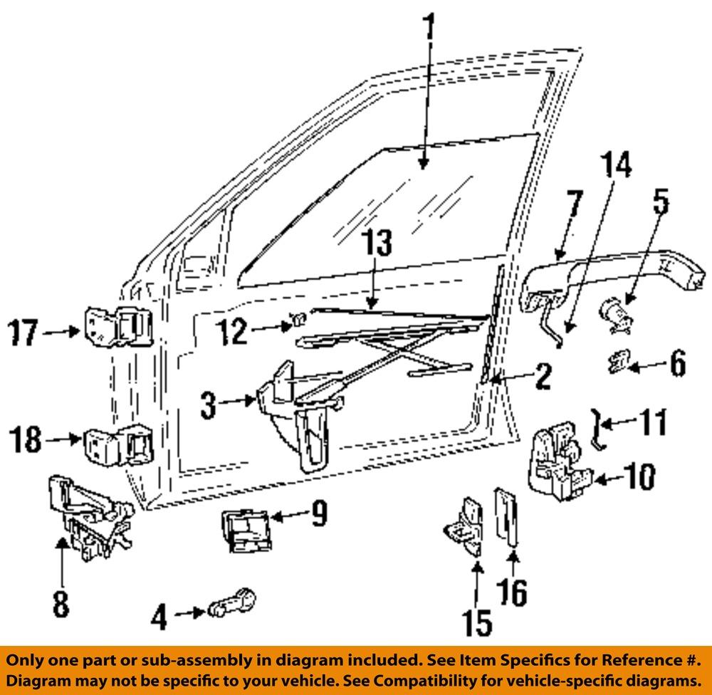 jeep chrysler oem 1997 grand door hinge lower left 55295893ab ebay