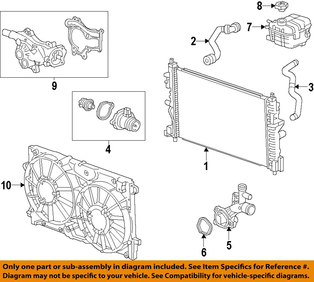 Purchase Gm Oem Engine Coolant Thermostat 55593035 Motorcycle In