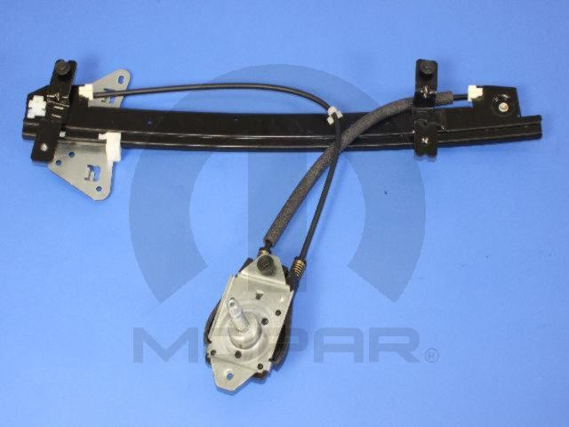 Window regulator front left mopar 55256315ae fits 00 01 for 2002 dodge dakota window regulator