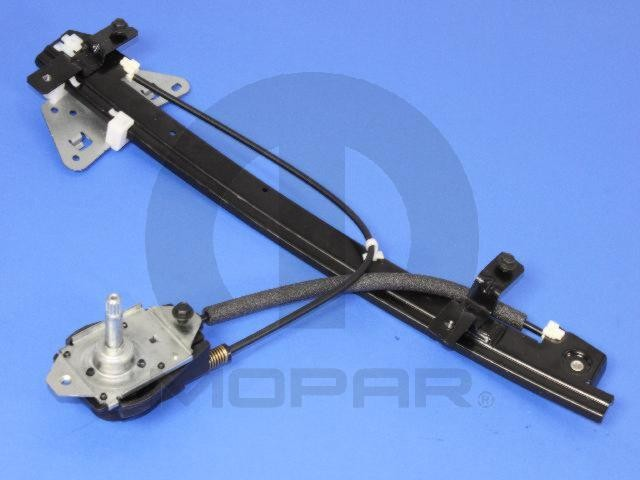 Window regulator front left mopar 55256315ae fits 00 01 for 02 durango window regulator