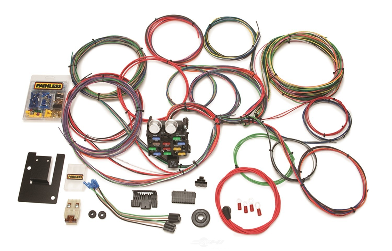 chevy wire harness 1995 chassis wire harness painless wiring 20107 fits 55-57 ...