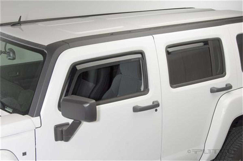 Foto de Cara de la ventanilla de ventilación Element Tinted Visor para Hummer H3 2006 Marca PUTCO Número de Parte 580505