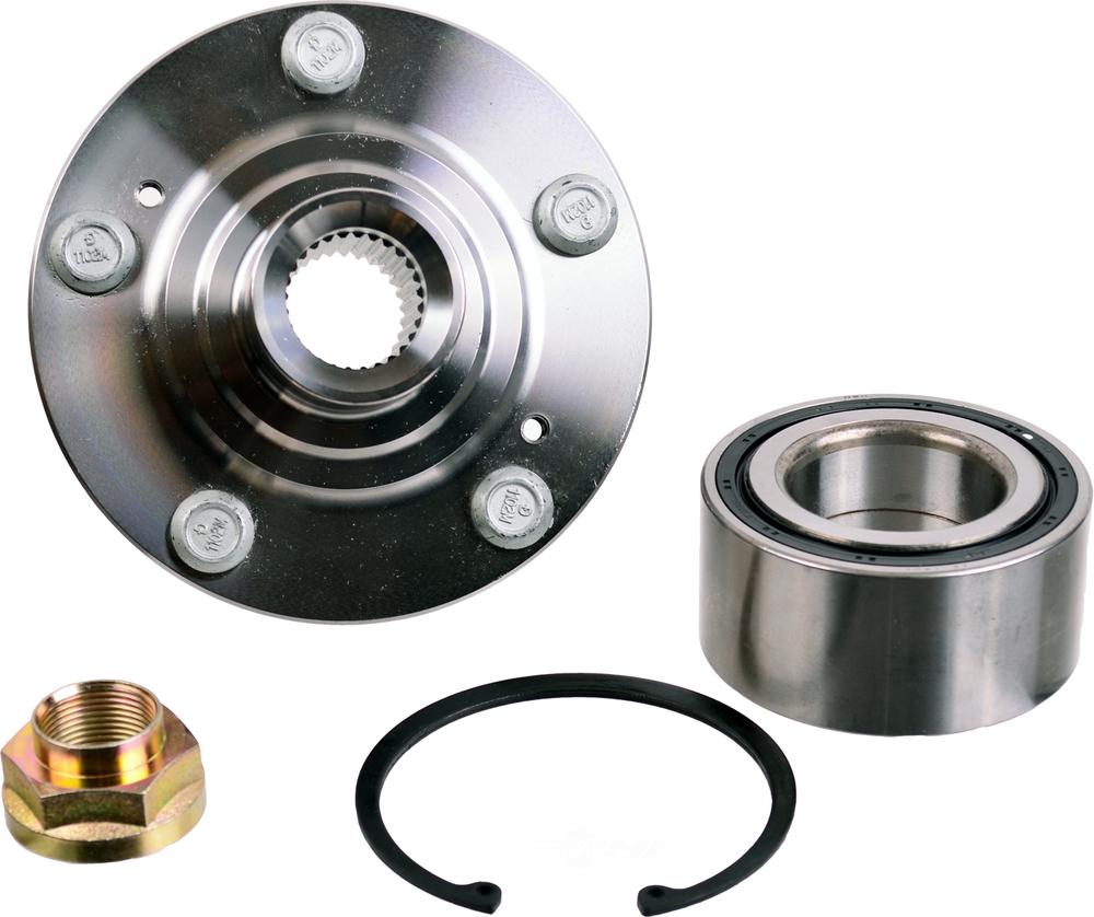 Wheel Axle Kits : Axle wheel bearing and hub assembly repair kit front fits