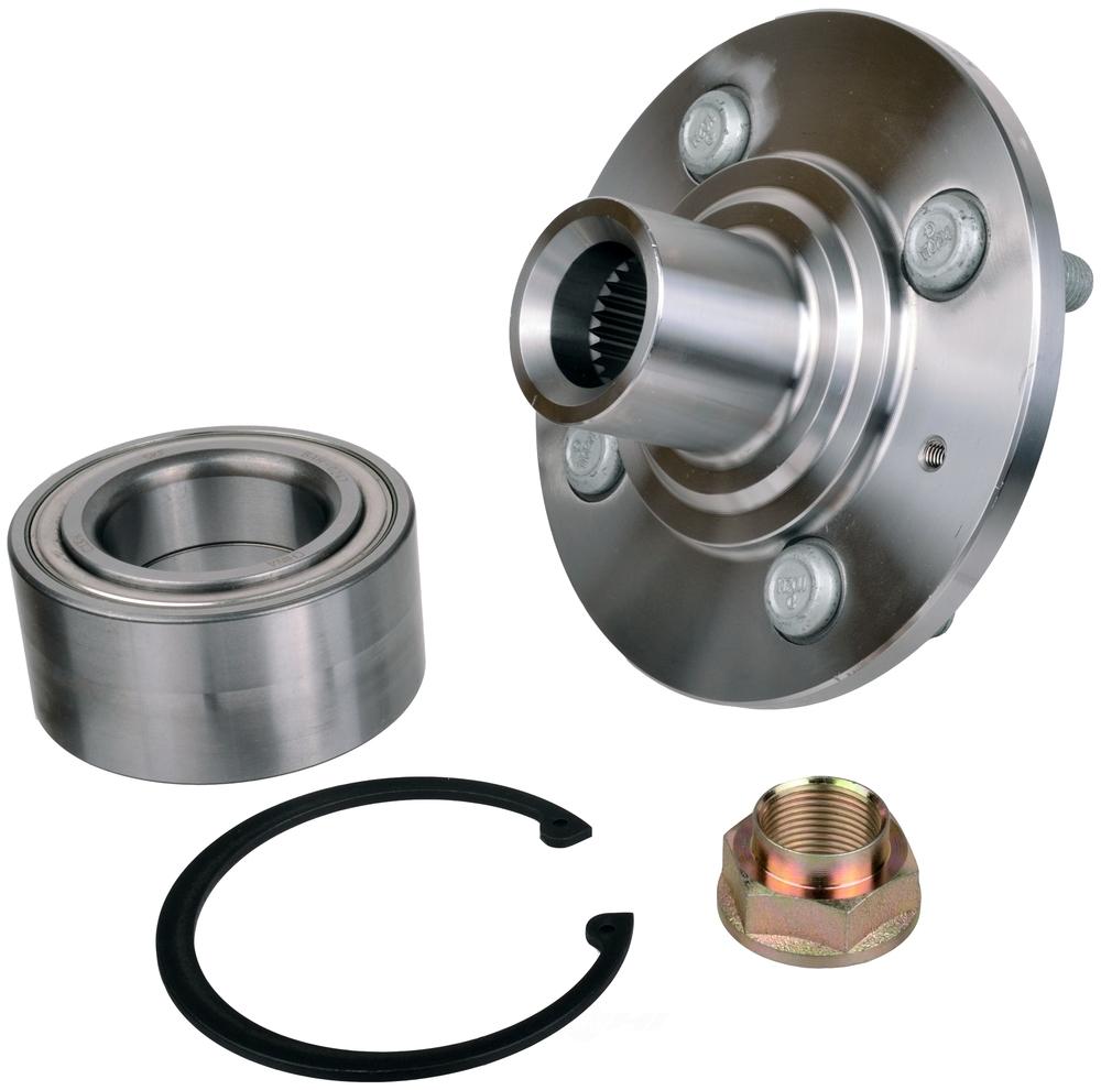Wheel Axle Kits : Axle wheel bearing and hub assembly repair kit skf fits