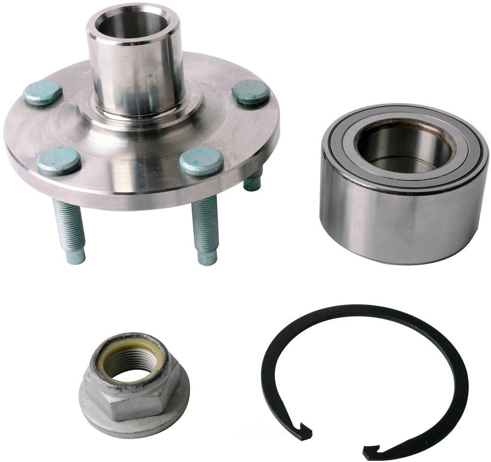 Wheel Axle Kits : New axle wheel bearing and hub assembly repair kit front