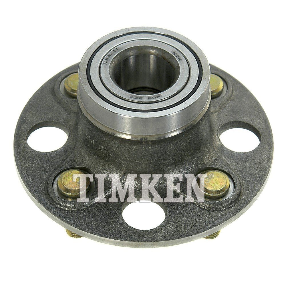 Timken Bearing Interchange : Wheel bearing and hub assembly rear timken fits