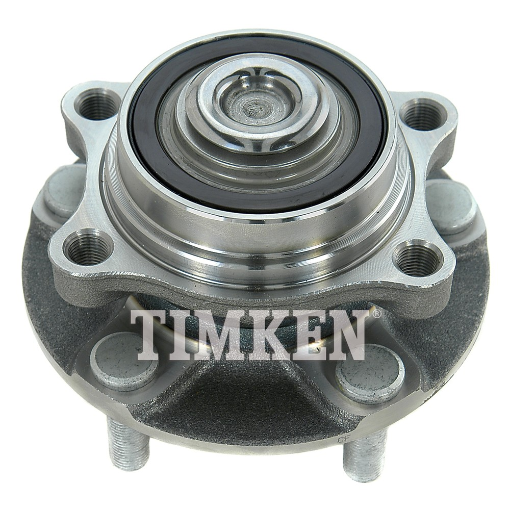 Timken Bearing Interchange : Wheel bearing and hub assembly front timken ha