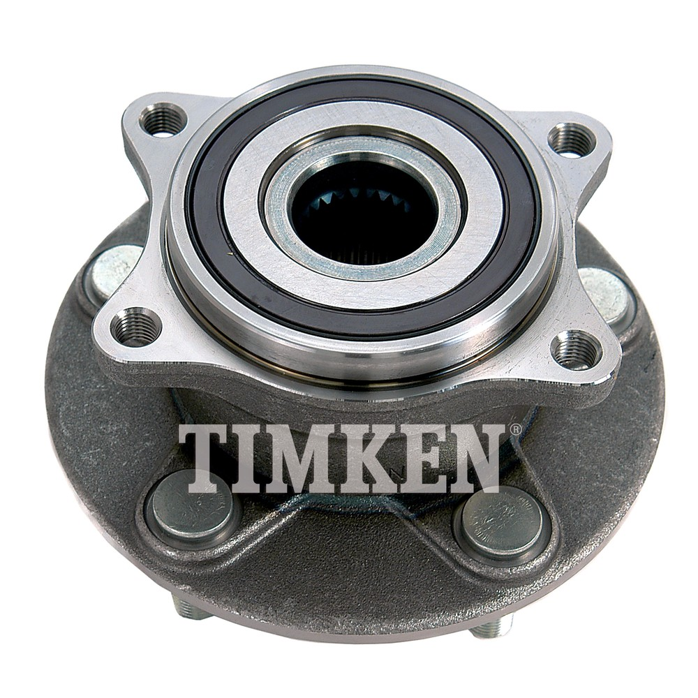 Timken Bearing Interchange : Wheel bearing and hub assembly timken ha fits