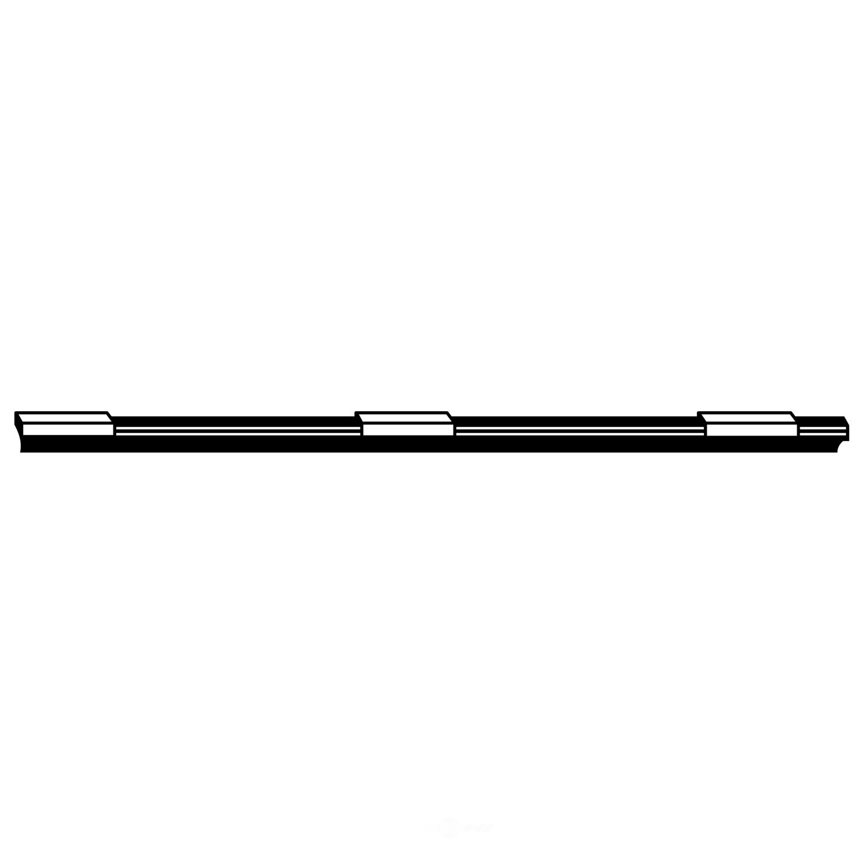 Windshield Wiper Blade Refill-Teflon Refill Front/Rear