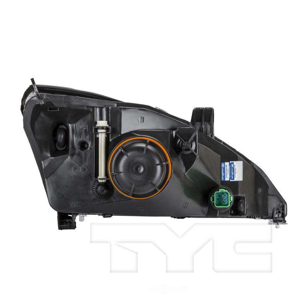 Headlight Assembly Nsf Certified Left Tyc 20 5828 00 1
