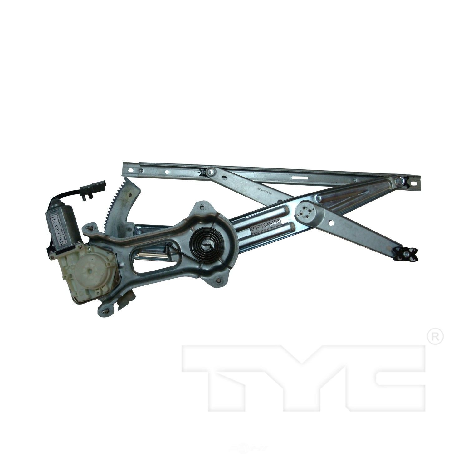 Power window motor and regulator assembly front left tyc for 2001 ford focus power window regulator