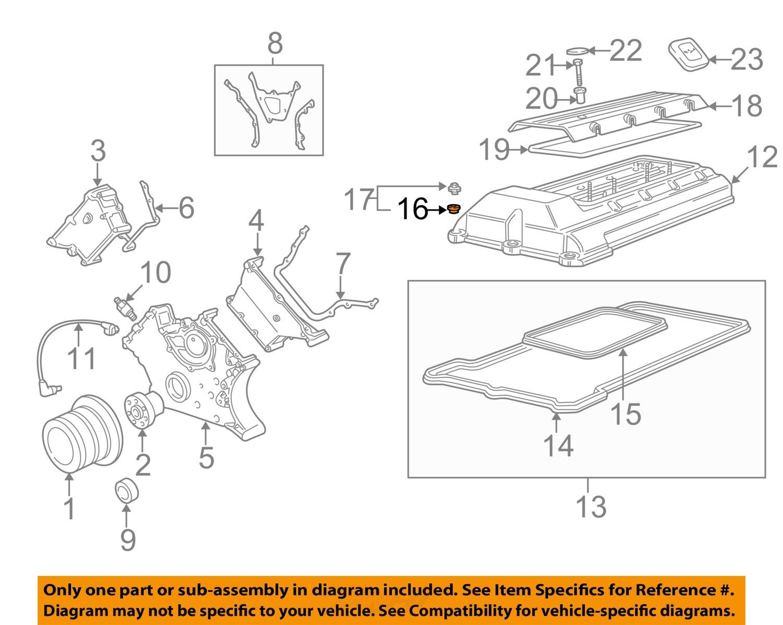 Buy Bmw Oem 97 03 540i 44l V8 Engine Valve Cover Nut 11121747162 1997 528i Diagram