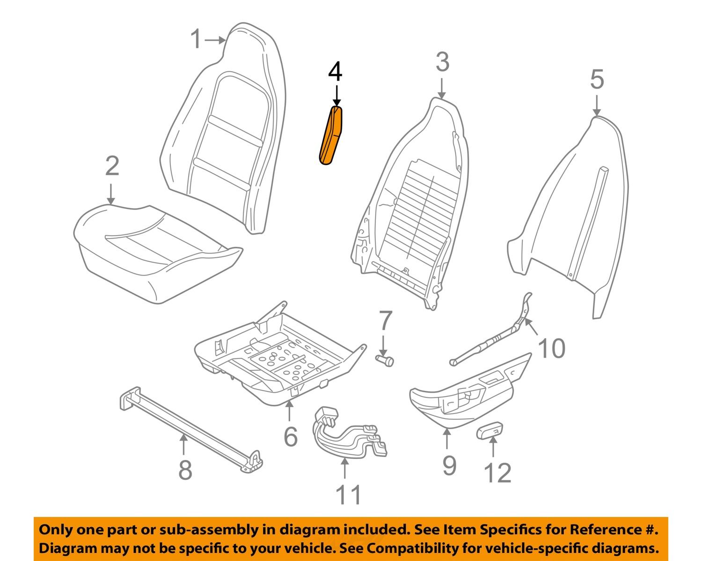bmw oem 96 02 z3 seat belt guide right 52108410506 bmw oem 96 02 z3 seat